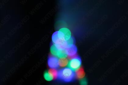 KU8C7225   Keywords: christmas,bokeh,tree,blue,red,green