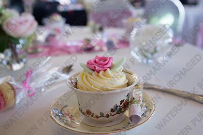 KU8C5752   Keywords: wedding,party,tea,cup,cracker,christmas,theme,white,austen,blakemore,knife,fork